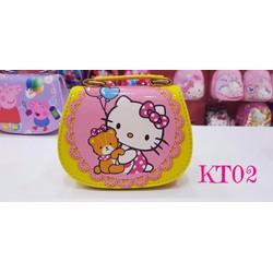 Túi đeo chéo hình Hello Kitty cho bé
