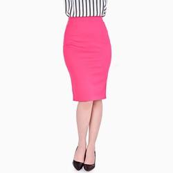 Chân váy bút chì màu hồng NT Fashion size L