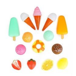 Bộ đồ chơi bán kem và trái cây vui nhộn