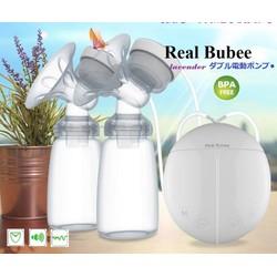Máy hút sữa điện đôi Real Bubee Nhật Bản