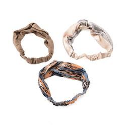 Combo 3 khăn turban phong cách hàn quốc nhiều họa tiết M01