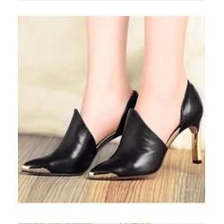 Giày cao gót bít mũi nữ cực chất