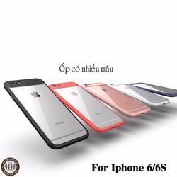 Ốp lưng Iphone 6 - 6S lưng trong suốt, viền dẻo