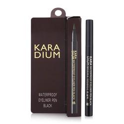 Bút dạ kẻ mắt Karadium Waterproof Eyeliner Pen Black