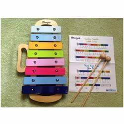 Đàn mộc cầm nhỏ mini xylophone đồ chơi cảm thụ âm nhạc