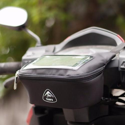 Túi treo đầu xe máy GPS định vị chính hãng TAM Bag
