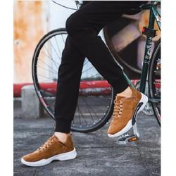giày thể thao nam cao cấp 3 màu đen ,màu bò ,xám