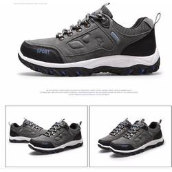 giày thể thao nam  thời trang mới 2 màu xám ,xanh