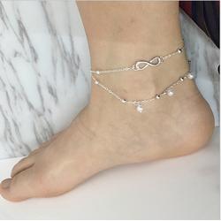 Lắc chân đính đá lấp lánh cực sáng chân  - NT698