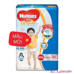 TÃ QUẦN HUGGIES XXL56