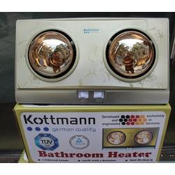 Đèn sưởi nhà tắm 2 bóng Kottman