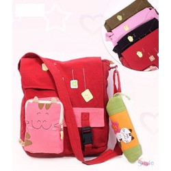 CỰC CUTE  - túi đeo chéo dễ thương giá rẻ cho bé đi học