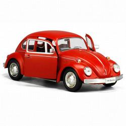 XE MÔ HÌNH SẮT TỈ LỆ 1:32 VW CON BO BEETLE CLASSIC - ĐỎ