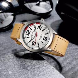 Đồng hồ nam dây da cá tính Gaiety 01