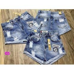 Quần sort Jeans nữ thời trang, kiểu dáng hiện đại trẻ trung