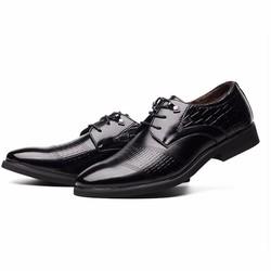 Giày da nam tăng chiều cao 6cm size nhỏ từ 37 - 44 cho tom sb trans