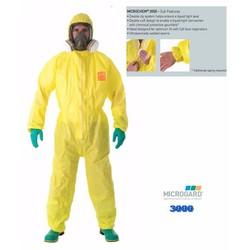 Quần áo chống hóa chất Microchem 3000