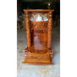 bàn thờ ông địa thần tài gỗ tự nhiên 81 x 48