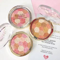 Phấn má hồng và highlight Milani Illuminating Face Powder
