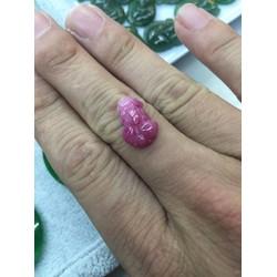tỳ hưu đá ruby size nhẫn