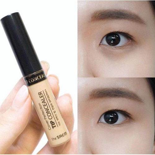 Che khuyết điểm the saem cover tip perfection concealer - 16926220 , 7885601 , 15_7885601 , 100000 , Che-khuyet-diem-the-saem-cover-tip-perfection-concealer-15_7885601 , sendo.vn , Che khuyết điểm the saem cover tip perfection concealer