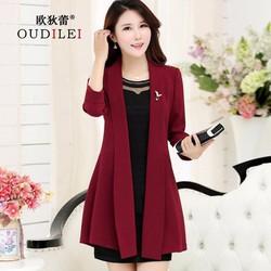 áo khoác vest đỏ sang trọng