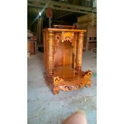 bàn thờ ông địa thần tài gỗ căm xe 48 x 68