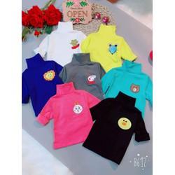 Combo 3 Áo Thú chất cotton len dày ặn dành cho bé gái từ 10 -  22kg