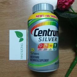 Vitamin tổng hợp Centrum Silver 325 viên từ Mỹ cho người trên 50 tuổi