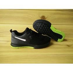 giày thể thao đen xám