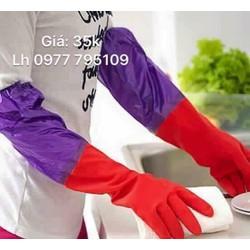 set 4 đôi găng tay lót nỉ