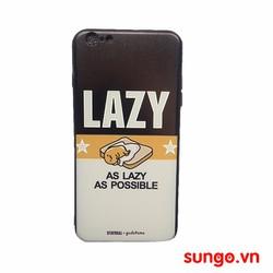 ốp lưng iPhone 5 và 5s viền dẻo lazy