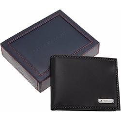 Bóp da  Leather Men Multi-Card Bifold Passcase 29749