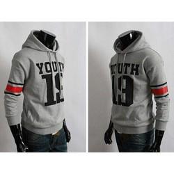 Áo hoodie nỉ nam thể thao