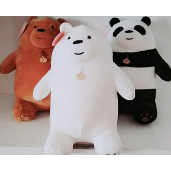 Combo 3 Con  Gấu We Bare Bears Nhồi Bông