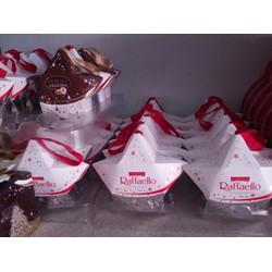 Bánh dừa Raffaello hình ngôi sao 40g - quà Noel