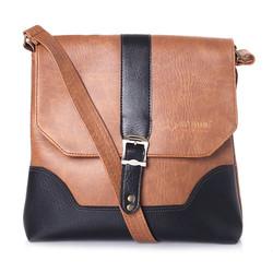 Túi đeo Ipad da màu bò nhạt SH9416