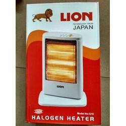 đèn sưởi halogen thông minh 3 bóng