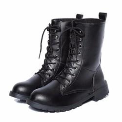 Giày bốt nữ cổ cao chiến binh