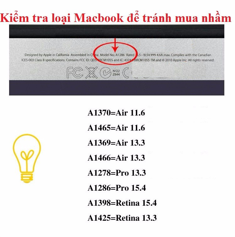 Ốp lưng 1 mm trong suốt transparent cho Macbook Air 11.6 inch cao cấp 3