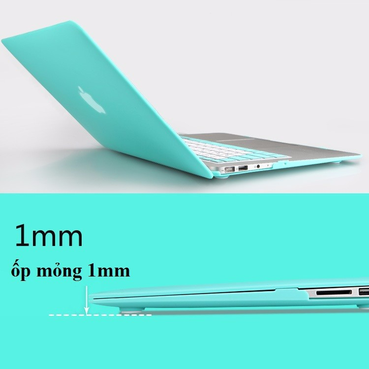 Ốp lưng 1 mm trong suốt transparent cho Macbook Pro 12 inch cao cấp 9