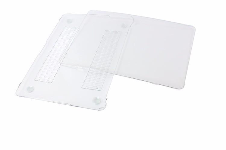 Ốp lưng 1 mm trong suốt transparent cho Macbook Pro Retina15.4 cao cấp 17