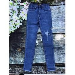 Quần jean nữ form ôm dáng chuẩn 1031
