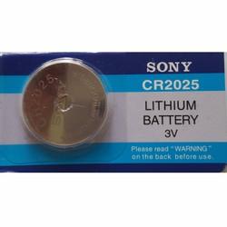 Pin đồng hồ Sony CR2025