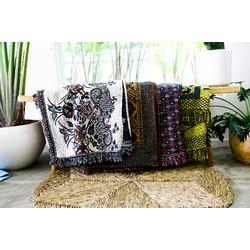 Chăn thảm thổ cẩm siêu đẹp thích hợp cho gia đình và văn phòng