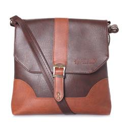 Túi đeo Ipad da màu nâu SH2516