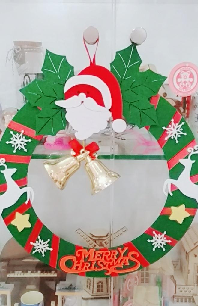 Vòng Nguyệt Quế Trang Trí Noel 2