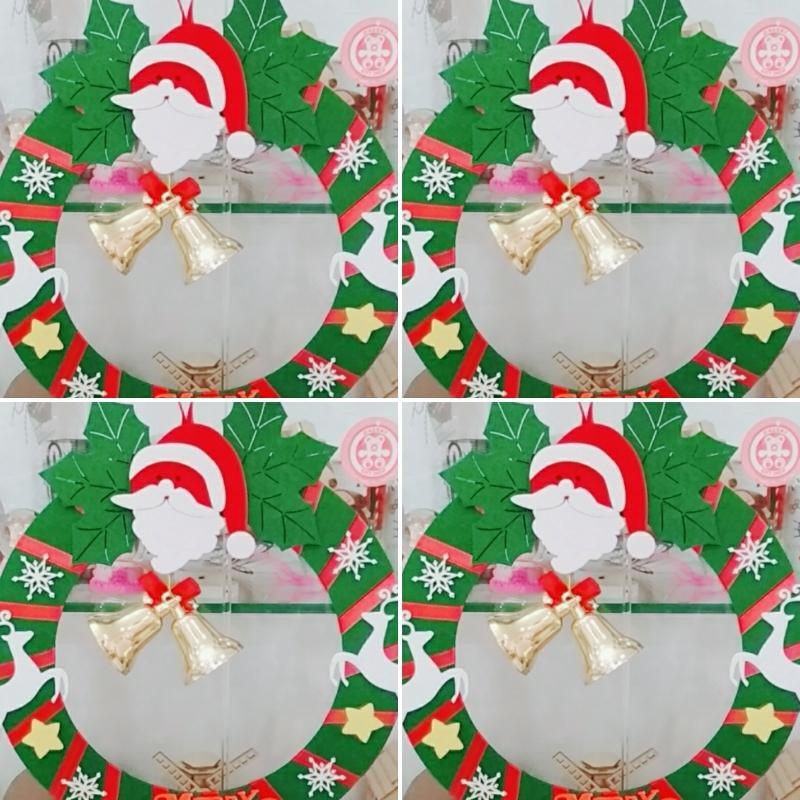 Vòng Nguyệt Quế Trang Trí Noel 1