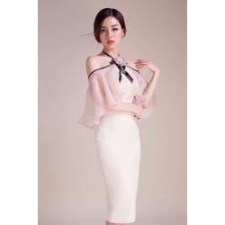 Đầm ôm body bèo lưới cực xinh