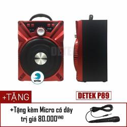Loa Bluetooth Karaoke Xách Tay Di Động P89 Tặng Kèm Micro Cực Hay